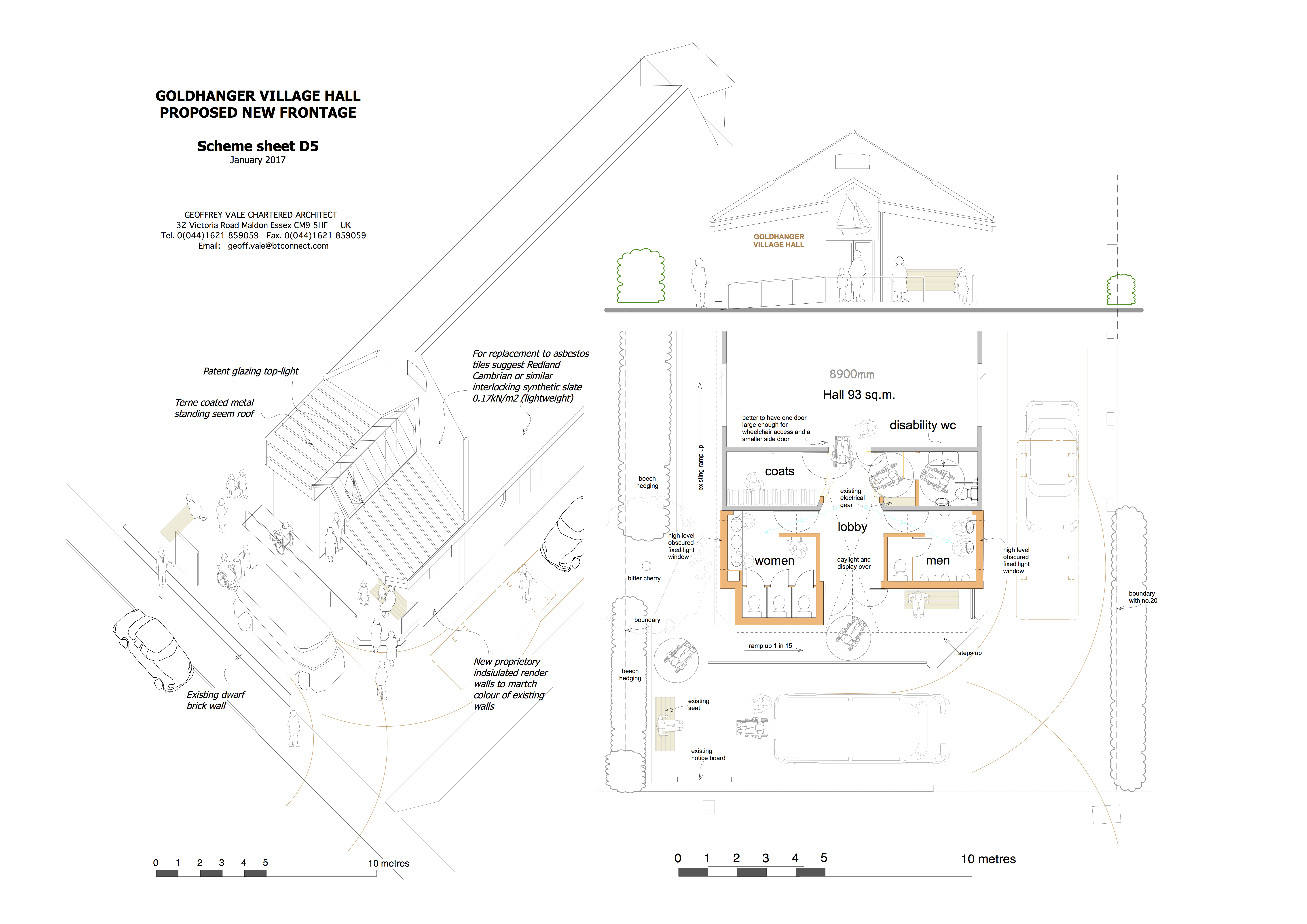 Village Hall Improvement Project Plan