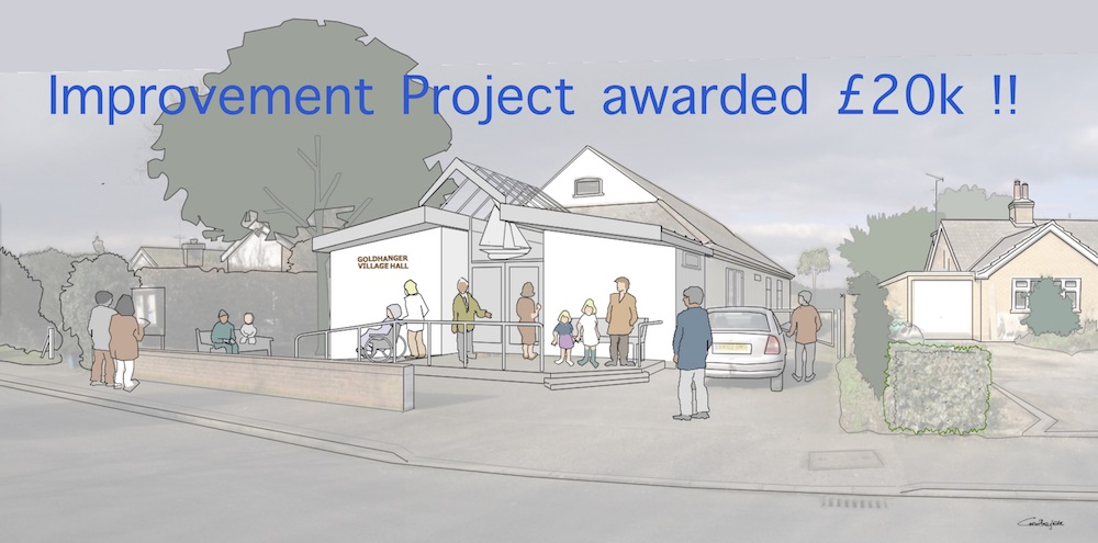 Goldhanger Village Hall as proposed[1] – for newsletter