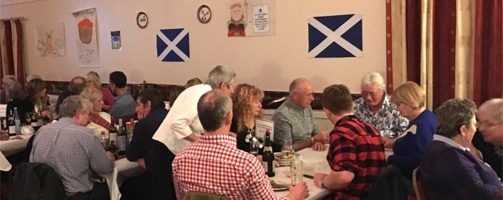 2019 Burns Night Supper